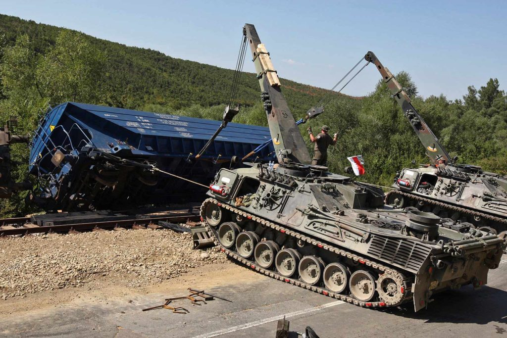 Bergepanzer Bufalo Tank Leoparad 2. foto: bundesheer.at