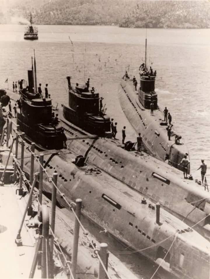 Kapal Selam Wishkey Class, Indonesia sempat mempunya 12 unit dan 2 unit untuk spare.