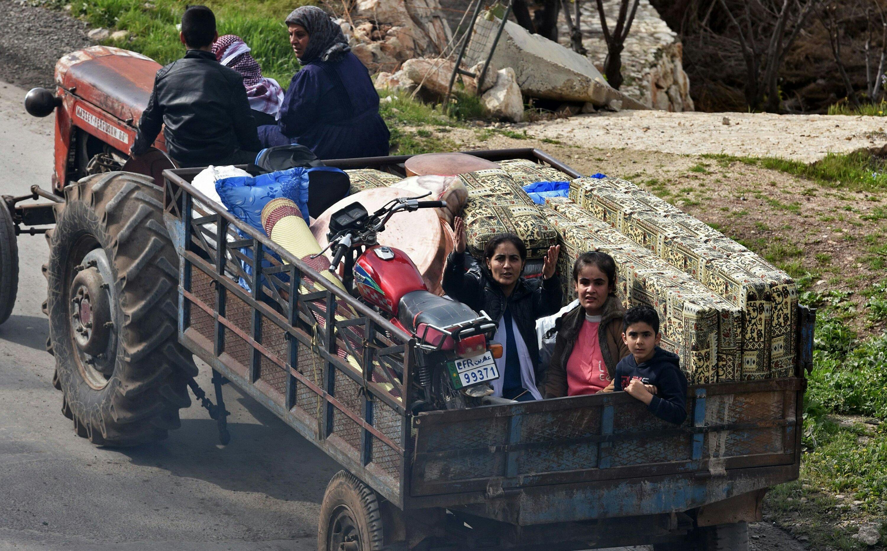 kotanya sebelum diserang Turki dan FSA. Foto: reuters