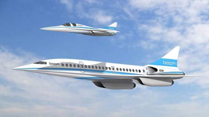 XB-1 Baby Boom, Pesawat Supersonic Penerus Concorde – MiliterMeter.com